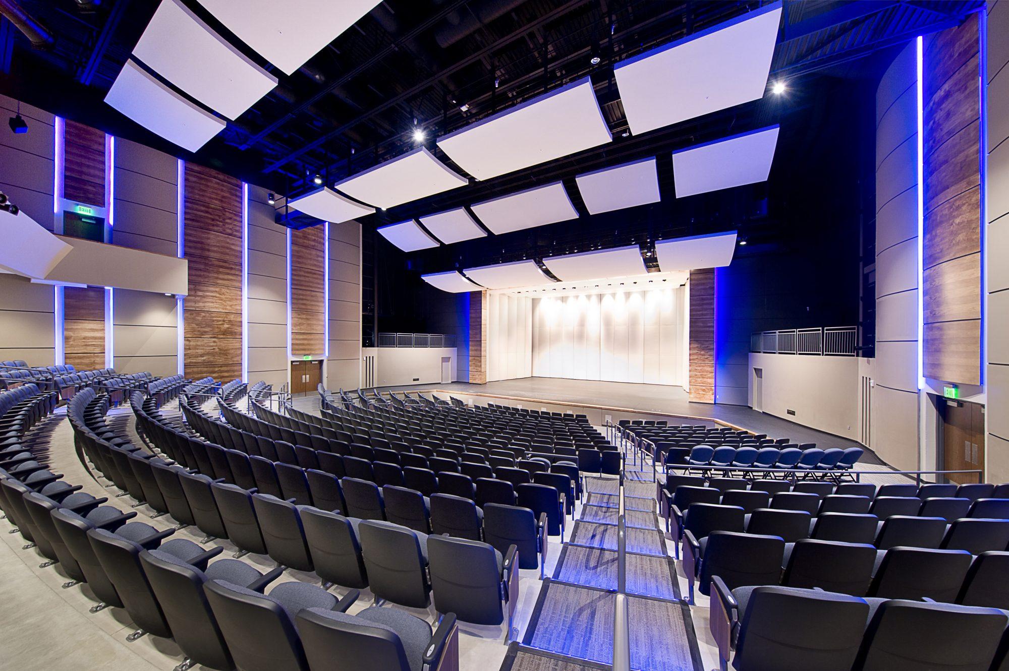 Canton High School Performing Arts Center Henry Carlson
