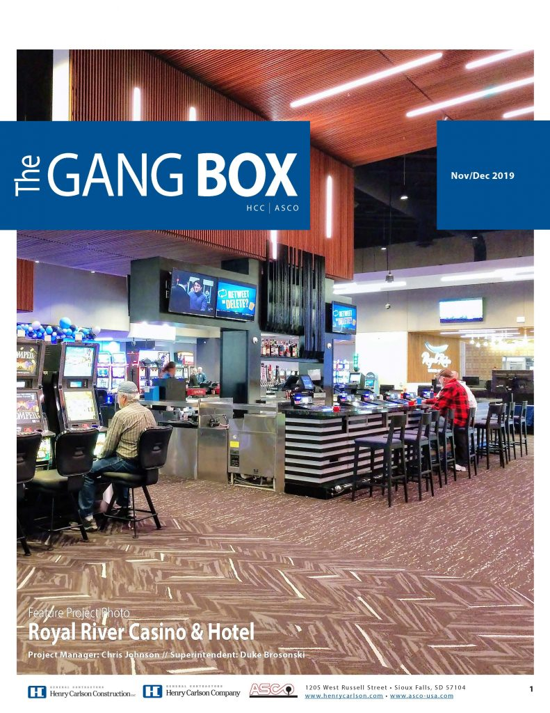 November/December Gang Box